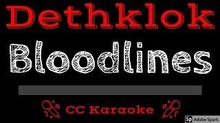 Dethklok • Bloodlines (CC) [Karaoke Instrumental Lyrics]