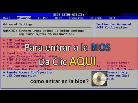 Como Entrar A La BIOS En Windows 10 PC  (fácil) 2020 ✔️