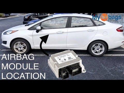SOLVED: 2011 ford fiesta air bag sensor location - Fixya