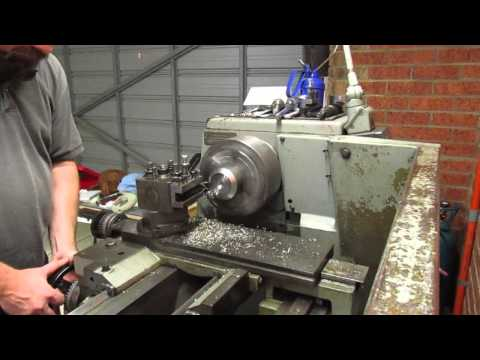 """Turning a support """"foot"""" for my Lathe"""