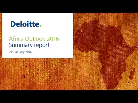 Africa Outlook 2016 - Frontier Advisory Deloitte