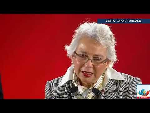 Se pretende no criminalizar a la mujer dice Sanchez Cordero de SEGOB AMLO
