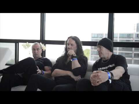 Interview with Tony Dolan, Jeff Dunn and Anthony Bray of Venom Inc - Heavy Montréal, 2015