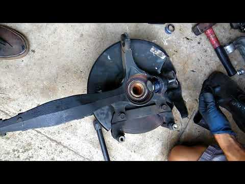 2004 acura tl how to replace lower ball joint