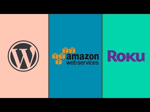 WordPress Video Streaming Theme 2019 AWS, WordPress, Roku