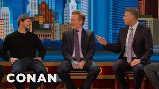 will ferrell bostonians go crazy for mark wahlberg conan on tbs
