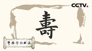 """《牛爷爷的书法》神龟虽寿 犹有竟时——唱儿歌学写""""寿"""" CCTV少儿"""