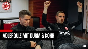 Wer hat die Tore der Eintracht erzielt?   Erik Durm gegen Dominik Kohr   Adler-Quiz