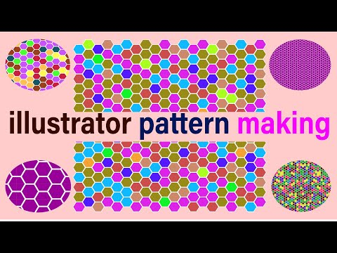 #MakeBangla, #Sadequl Islam , How To Creat  Pattern In Adboe Illustrator. Bangla Tutorial