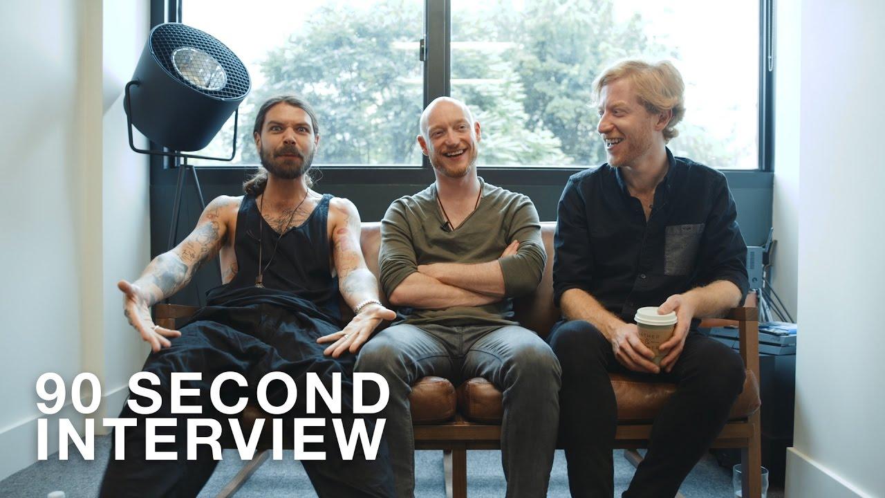 second interview biffy clyro 90 second interview biffy clyro