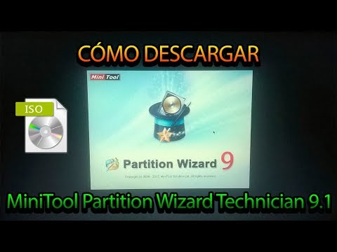 DESCARGAR MINITOOL PARTITION WIZARD BOOTEABLE