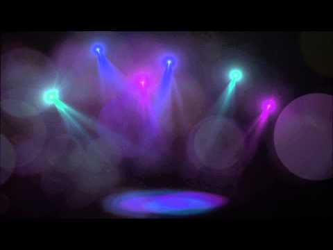 Footlights background video effects HD