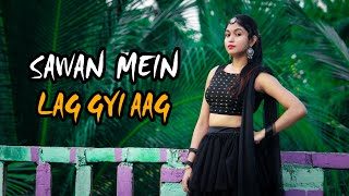 Sawan Mein Lag Gayi Aag Dance Video | Ginny Weds sunny | Neha, Badshah, Mika, | Moumita Biswas