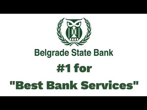 Thank You for Voting Belgrade State Bank #1!