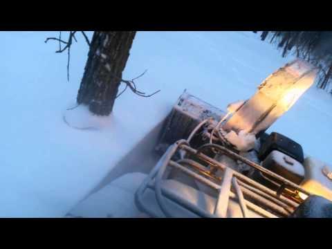 """48"""" BercOmac #Berco ATV SnowBlower Honda GX390 motor"""