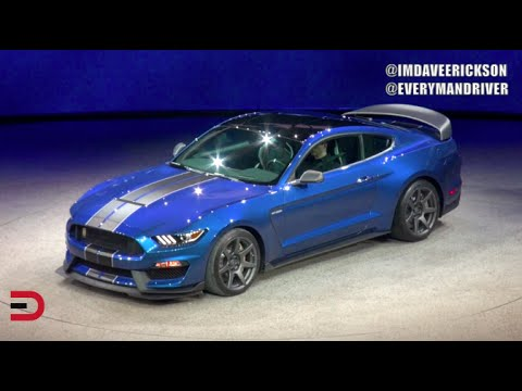 Here's the 2016 Ford Shelby GT350R Mustang DEBUT on Everyman Driver Dave Erickson
