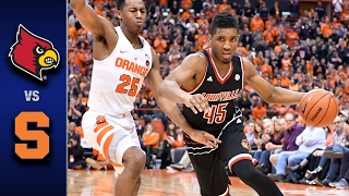 Louisville vs. Syracuse Men's Basketball Highlights (2016-17)