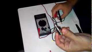 How to check resistance on a rebuildable with a multimeter.