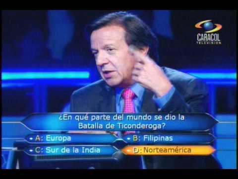 ¿Quién Quiere ser Millonario? - Colombia - 300 Millones, No todos los días se ganan!!