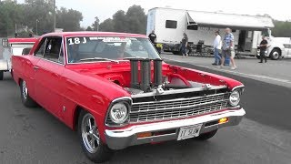Drag Week Arivals Pits Day 2 2019 Cecil County Dragway