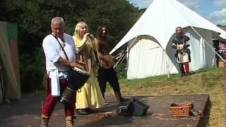 Medieval music:Portcullis minstrels Hertmonceux 2012 pt 2
