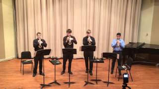 Bohemian Rhapsody trumpet quartet thumbnail