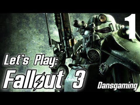 Fallout 3 Let's Play with Dansgaming - Let's Play Fallout 3 - Part 1