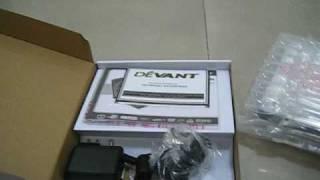 Unboxing Devant DVP280-R Portable DVD Player