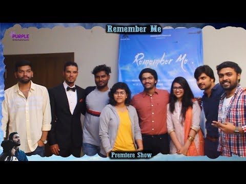 """Remember Me""  Short Film Premiere Bytes Highlights  