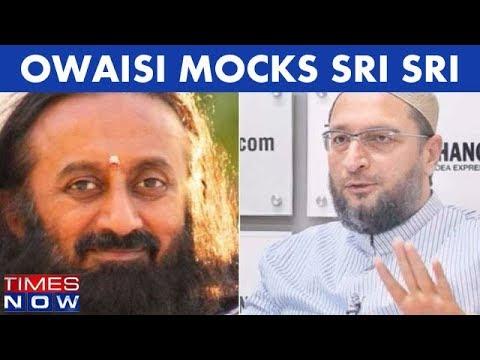 Kashmir Peace Talks: Asaduddin Owaisi Mocks Sri Sri Ravishankar, Calls Him A Joker