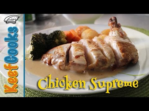 Classic French Chicken Supreme Recipe