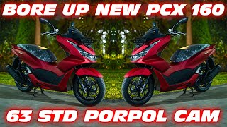 Turun Dari Dealer Langsung Bore up 173cc | Honda Pcx 160 2021