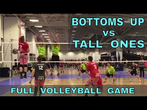 Bottoms Up vs Tall Ones (FULL GAME 3 Volleyball) - USAV 2017 Nationals