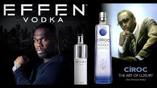 """Diddy, 50 Cent and French Montana Engage in """"Vodka Wars"""" on Instagram! Hating or Fair play?"""