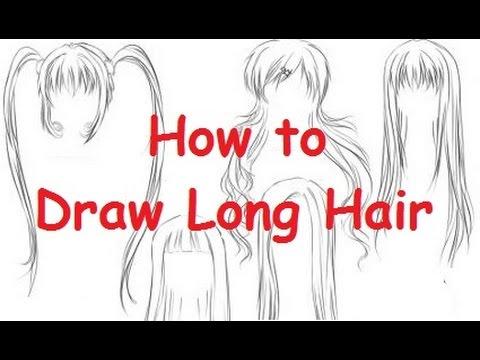 How To Draw Nightcore Hair