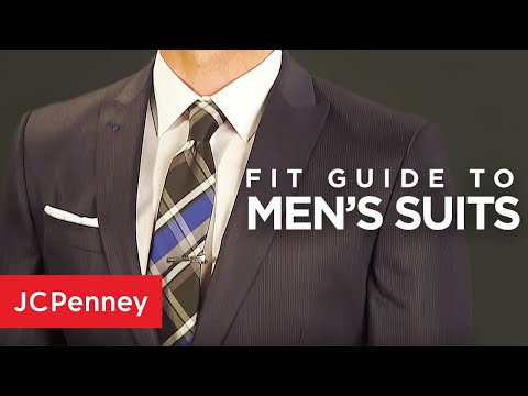 How a Suit Should Fit: Suit Fit Guide for Men | JCPenney