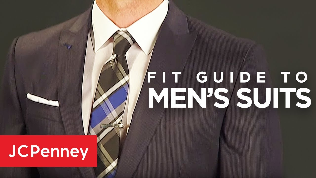 How  suit should fit guide for men jcpenney also youtube rh