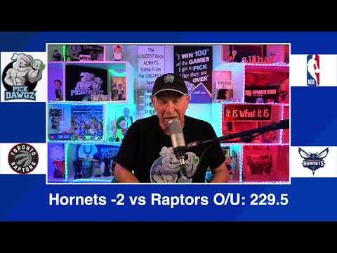 Charlotte Hornets vs Toronto Raptors 3/13/21 Free NBA Pick and Prediction NBA Betting Tips