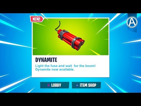 "NEW ""DYNAMITE"" UPDATE in Fortnite Battle Royale! (""WILD WEST"" LTM Gameplay) thumbnail"