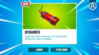"""NEW """"DYNAMITE"""" Gameplay! // Pro Console Player // 1400+ Wins (Fortnite Battle Royale LIVE PS4)"""