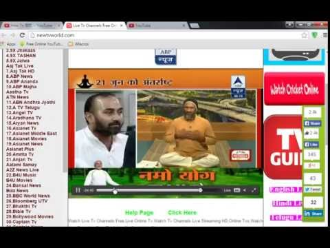 Live Indian TV Channels Toolbar (free) download Windows version