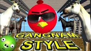 Repeat youtube video ANGRY BIRDS dance GANGNAM STYLE   ♫ 3D animated mashup parody ☺ FunVideoTV - Style ;-))