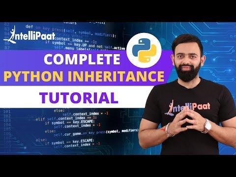 Python | Python Tutorial | Python Inheritance | Intellipaat thumbnail