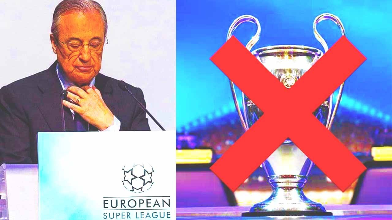 THE SUPER LEAGUE! CHAMPIONS LEAGUE IS CANCELLED!? THE END OF FOOTBALL!? This is WHAT HAPPENED!