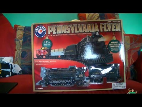 Lionel Trains Pennsylvania Flyer Play and Review