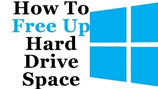 Free Up Hard Drive Space In Windows 8