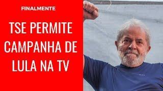 FINALMENTE TSE PERMITE CAMPANHA DE LULA NA TV thumbnail