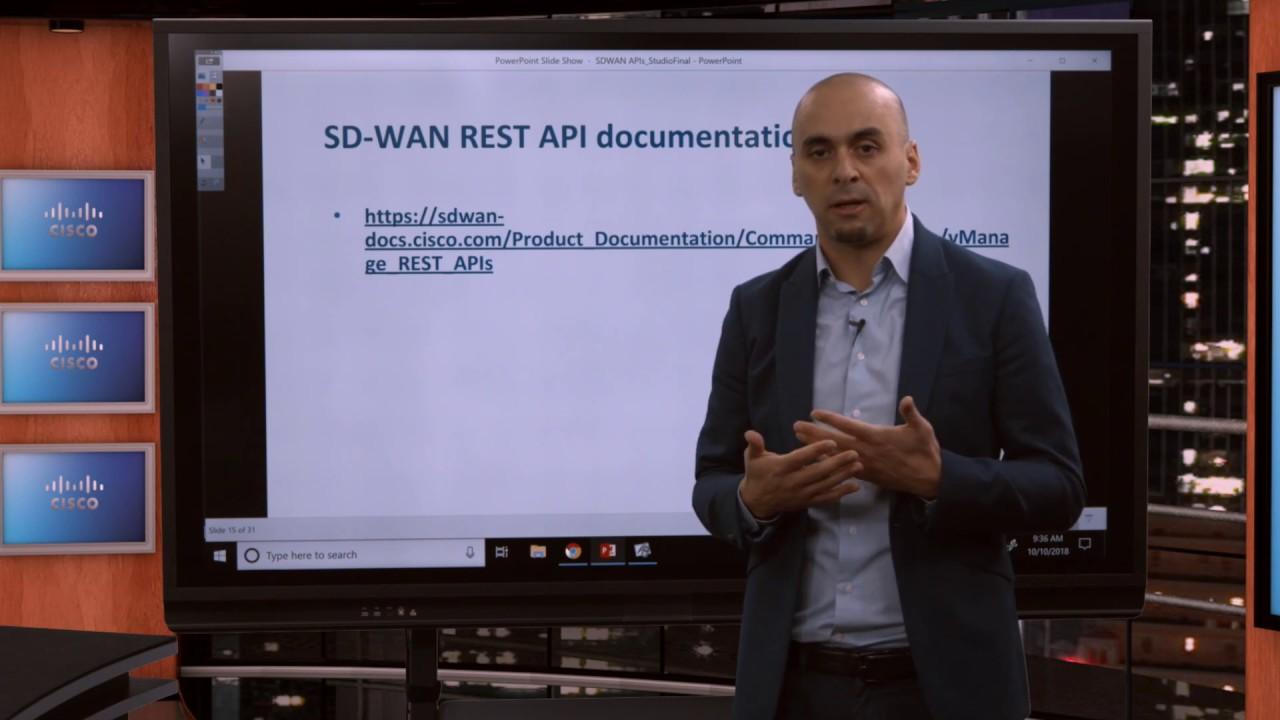Accessing vManage SDWAN REST API documentation ~ Video 6