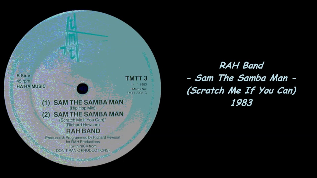 RAH Band Sam The Samba Man Rising Star Dream Street