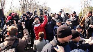Силовики пресекли массовые беспорядки в Одессе